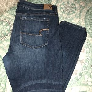 American Eagle jeans used like 3 times
